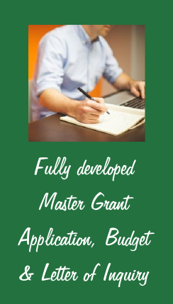Grant Ready Fully developed Master Documents.